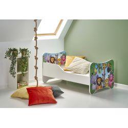 HAPPY JUNGLE łóżko wielobarwny (1p 1szt)