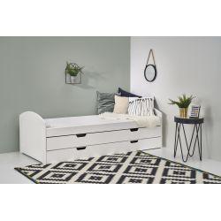 LAGUNA 2 łóżko białe (5p 1szt)