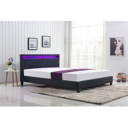 ARDA łóżko ciemny popiel (2p 1szt)