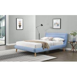 ELANDA 160 cm łóżko niebieskie (2p 1szt)