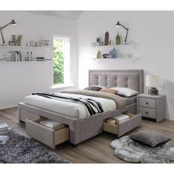 EVORA łóżko beżowy (6p 1szt)