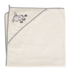Ceba Ręcznik (100x100) Osiołek ecru