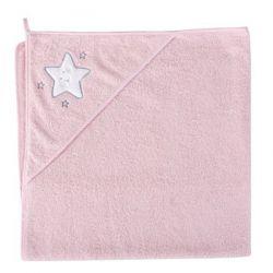 Ceba Ręcznik (100x100) Gwiazdka różowa