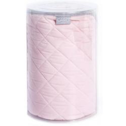 Ceba Kocyk (90x100) CARO różowe
