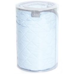 Ceba Kocyk (90x100) CARO niebieskie