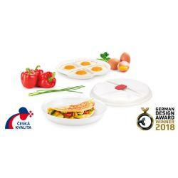 Miska do omletów i sadzonych jajek PURITY MicroWave Tescoma