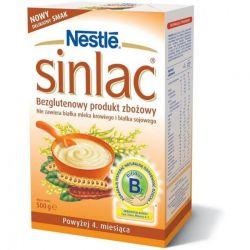 Sinlac produkt zbożowy bezglutenowy - powyżej 4 miesiąca 500g. Nestle