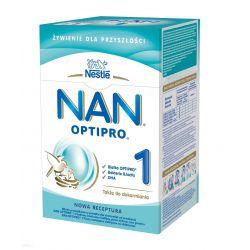 NAN OPTIPRO® 1 mleko początkowe - od urodzenia 800g. Nestle