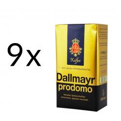 Promo zestaw Dallmayr Prodomo Kawa mielona 500g x 9szt