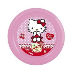 Banquet Talerz Plytki 22Cm Hello Kitty