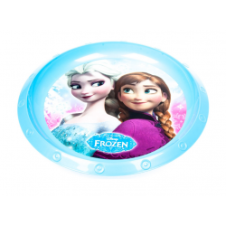 Talerz Plastik 22 cm Frozen Banquet