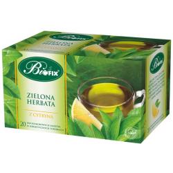 Zielona herbata oryginalna 20 torebek BiFIX