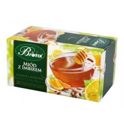 Herbatka owocowa ekspresowa miód z imbirem 20 torebek BiFIX