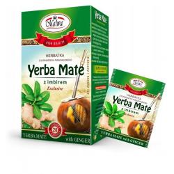 Herbatka Yerba Mate z imbirem 20 torebek MALWA