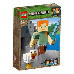 Leg21149 Lego® Minecraft - Bigfig — Alex Z Kurczakiem (Pcb: 8Szt.)