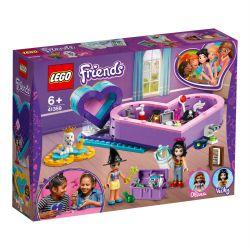 Leg41359 Lego® Friends - Pudełko W Kształcie Serca — Zestaw Przyjaźni (Pcb: 6Szt.)