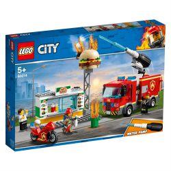 Leg60214 Lego® City - Na Ratunek W Płonącym Barze (Pcb: 4Szt.)