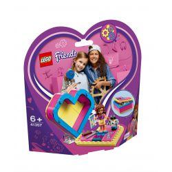 Leg41357 Lego® Friends - Pudełko W Kształcie Serca Olivii (Pcb: 4Szt.)