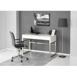 B32 biurko biały / chrom Halmar