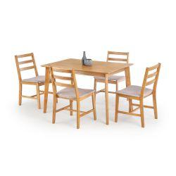 CORDOBA stół + 4 krzesła Halmar