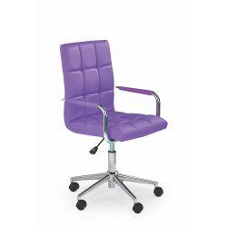 GONZO 2 fotel młodzieżowy fioletowy Halmar