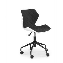 MATRIX fotel młodzieżowy biały/czarny (1p 1szt)