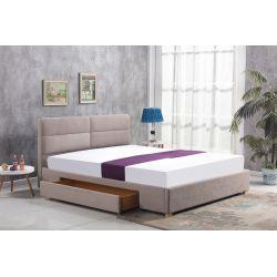 MERIDA łóżko z szufladą beżowy (2p 1szt)