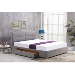 MERIDA łóżko z szufladą jasny popiel (2p 1szt)