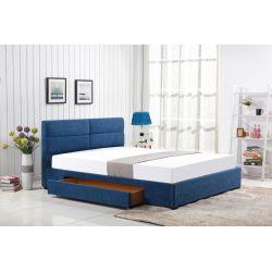MERIDA łóżko z szufladą niebieski (2p 1szt)