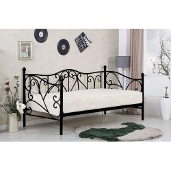 SUMATRA łóżko czarne(1p 1szt)