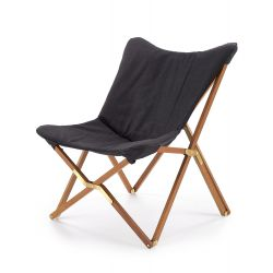 VOLANT fotel składany ciemny popiel(1p 2szt)
