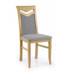 CITRONE krzesło dąb miodowy / tap: INARI 91 (1p 2szt)