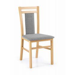 HUBERT8 krzesło dąb miodowy / tap: Inari 91 Halmar