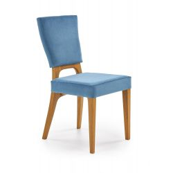 WENANTY krzesło dąb miodowy / morski Halmar