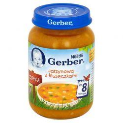 Gerber zupka jarzynowa z kluseczkami 8m+ 190g Nestle