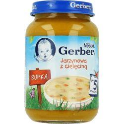 Gerber zupka jarzynowa z cielęciną 5m+ 190g Nestle