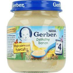 Gerber deserek delikatny banan 4m+ 125g Nestle