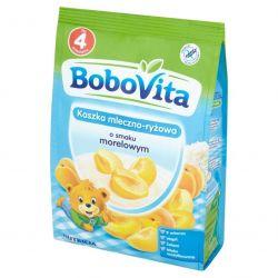 Bobovita kaszka ml-ryż. o smaku morelowym 4m+ 230g Nutricia