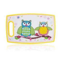 Banquet Plastikowa deska do krojenia Owl 36,5 x 22,5 cm