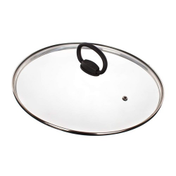 Banquet Szklana pokrywka z uchwytem Smart Plus Ø 24 cm