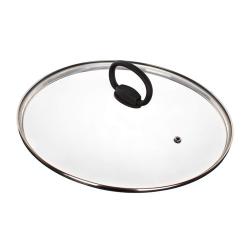 Banquet Szklana pokrywka z uchwytem Smart Plus Ø 28 cm