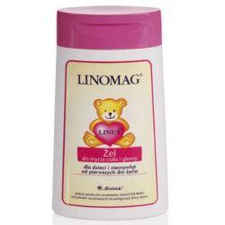 Żel do mycia ciała i głowy 200 ml Linomag