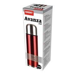Banquet Termos próżniowy Avanza Red 0,75 l