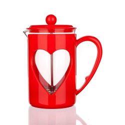 Banquet Dzbanek do kawy i herbaty Darby Red 0,8 l