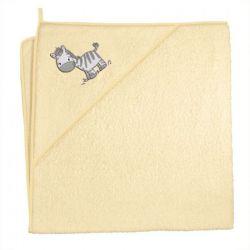 Ceba Ręcznik Zebra Żółta
