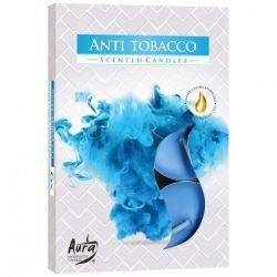 Bispol Świece zapachowe Antytabak (neutralizują dym papierosowy), 6 szt.