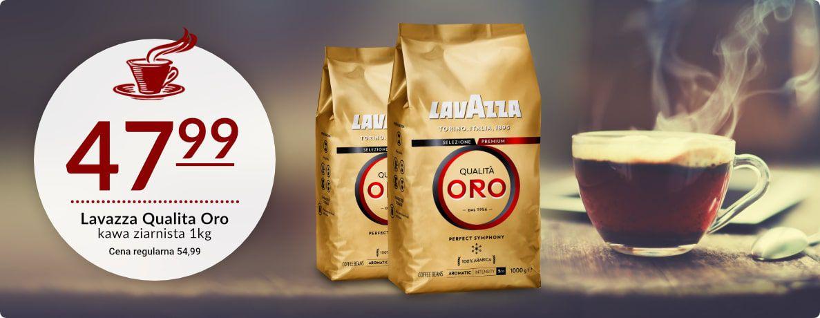 LavAzza Qualita Oro Kawa ziarnista 1kg
